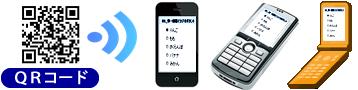 アンケート回答画面が携帯電話とスマートフォンに対応 QRコードも生成