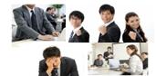 従業員の意識や満足度を調査し、改善につなげます
